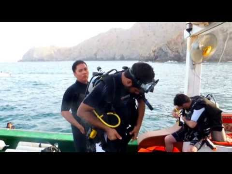 Uae diver withe white pearl diving centre