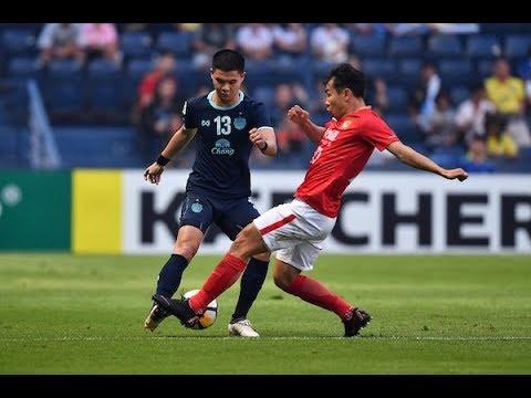Buriram United 1 1 Guangzhou Evergrande Afc Champions League 2018 Group Stage