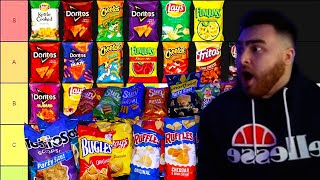 ULTIMATE SNACK TIER LIST (CHIPS EDITION)