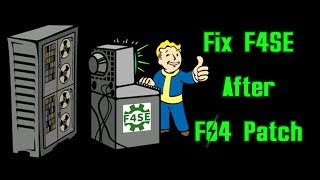 How To Fix F4SE: Remove Fallout 4 Patch and Disable Future Updates!