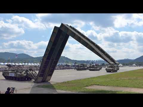 ROK Army Festival 2017, K1 AVLB Span Unfolding