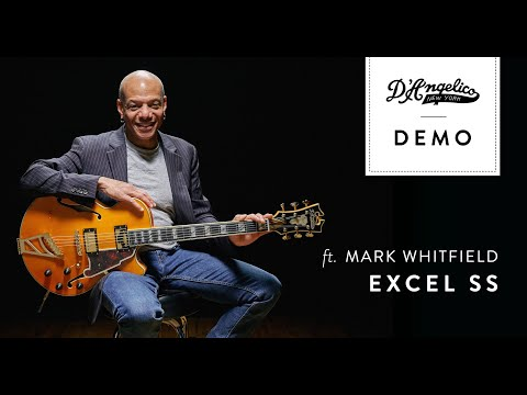 Excel SS Demo with Mark Whitfield | D'Angelico Guitars