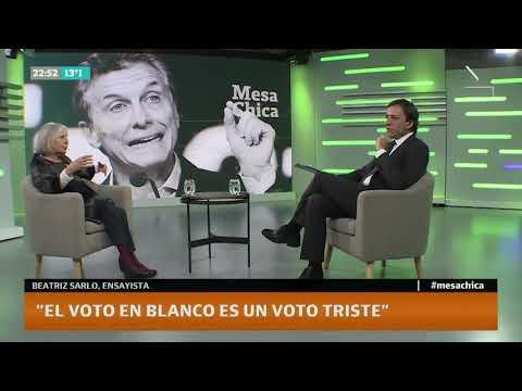 Entrevista a Beatriz Sarlo