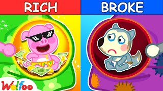 Rich vs Broke Kids - the Pregnancy Diary of Wolfoo - Kids Stories About Baby  Wolfoo Family