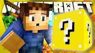 Minecraft Mod Showcase: THE LUCKY BLOCK CASINO!