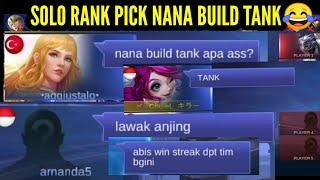 NANA BUILD TANK ?SOLO RANK