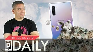 The Samsung Galaxy Note 10's Price Tag...