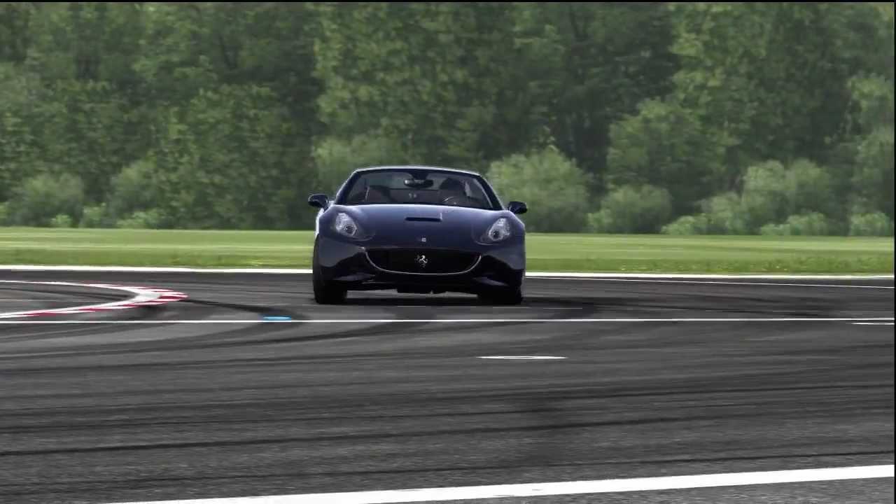 Ferrari California Top Gear Track - YouTube