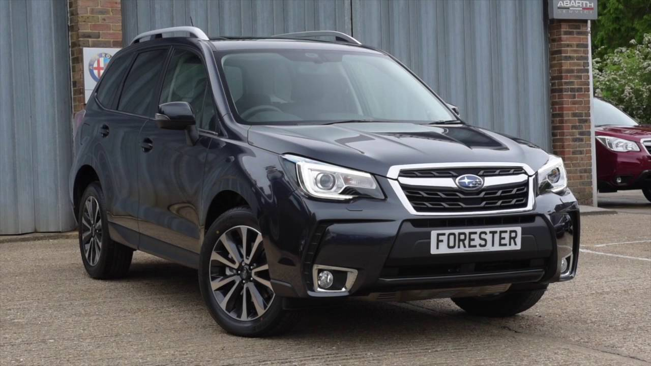 New 2016 Subaru Forester 2 0i Xt In Dark Grey Metallic