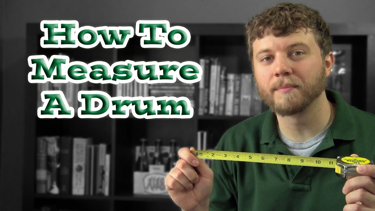 how to measure a drum on a drum set youtube. Black Bedroom Furniture Sets. Home Design Ideas