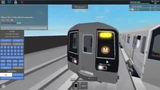 Roblox MTA Rare: R110B M Train (Brown)