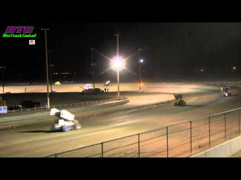 Central Arizona Raceway Sprint Car A Feature 1 13 12