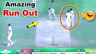 Aus Vs Pak : Pakistan Batsman का ये Funny Run Out नहीं देखा तो क्या देखा | Amazing Run Out