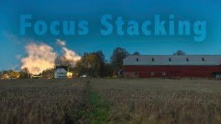 Focus Stacking at Night  Nikon D850