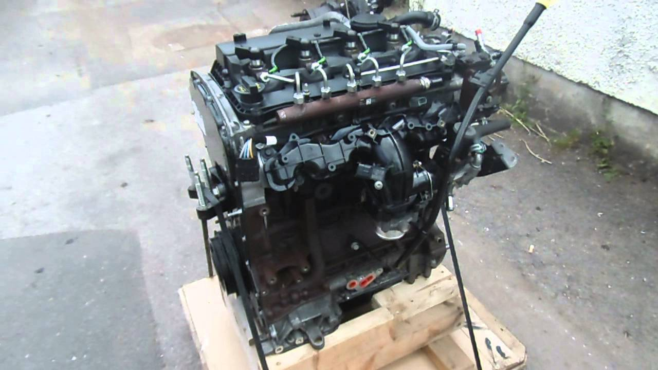 ford transit 2 2 tdci fwd engine cyrb drfb youtube
