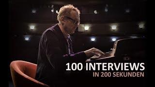 AUF DEM ROTEN STUHL | 100 Interviews in 200 Sekunden