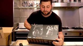 astro a40 tr unboxing