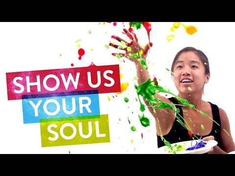 Paint From Your Soul! | SoulPancake Street Team