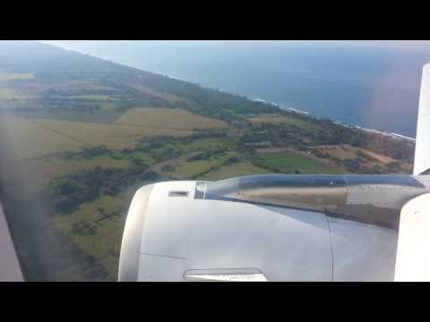 Taca Airlines Landing in El Salvador International Airport