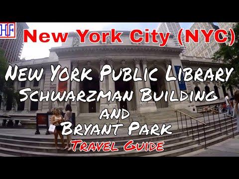 New York City (NYC) | New York Public Library - Schwarzman Building | Tourist Attractions | Epi# 13