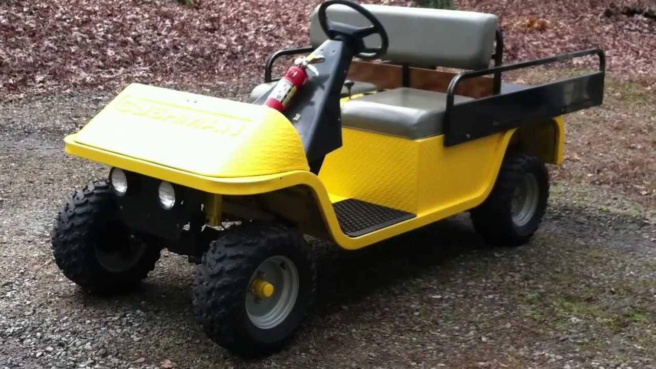 Walk Around Tour Of My 1964 Cushman Golfster Golf Cart Youtube Top Gt Wiring Diagrams Diagramjpg Chshman Gt1