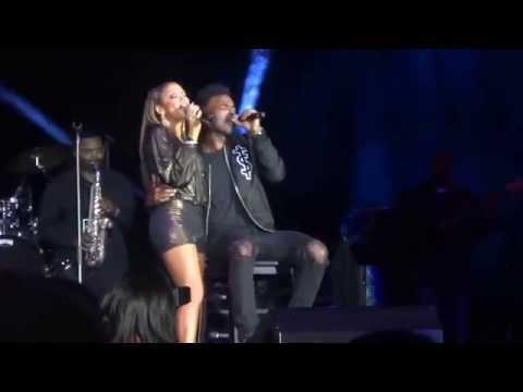 Luke James joins Chante Moore LIVE
