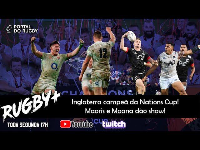 Rugby+: Inglaterra campeã! E festa também na Nova Zelândia