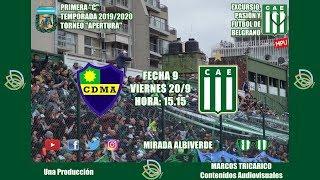 #PRIMERA C | LEANDRO N. ALEM - EXCURSIONISTAS | Fecha 9