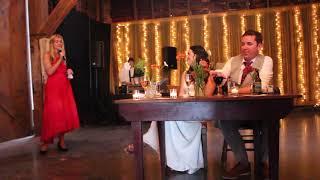 Katie Kapler Speech Sklut/Buonanno Wedding