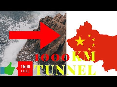 China is working on 1000km tunnel project on Brahmaputra river