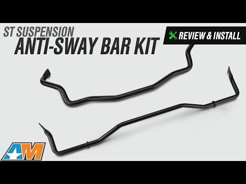2015-2017 Mustang ST Suspension Anti-Sway Bar Kit Review & Install (GT, EcoBoost, V6)