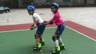 荔天小學滾軸溜冰興趣班2017
