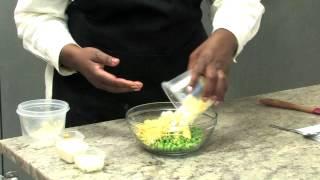 Cold Pea Salad (vegetarian)