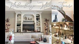🎄HOLIDAY HOME TOUR 🎄 || CHRISTMAS 2018 || Holiday Decor Ideas