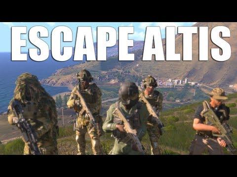 OPERATION: Escape Altis (Arma 3) | rhinoCRUNCH - YouTube