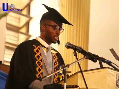 UG '17 Valedictorian, David Agyeman Duodu graduating with FGPA 3.91