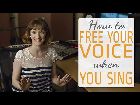 How to free your singing voice when you sing