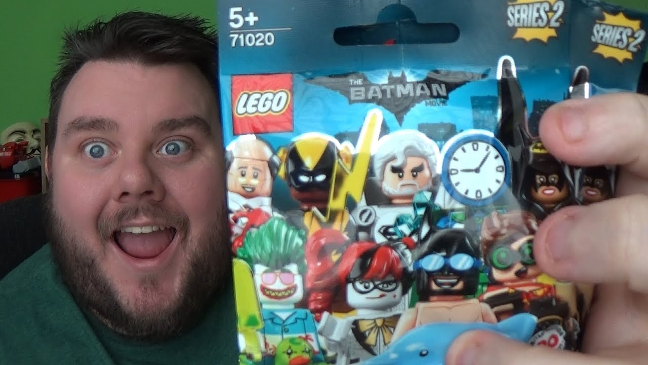 Lego Batman Movie Series 2 Minifigures Set 71020 X10 Unboxing 71017 Box Of 60 Toys Review