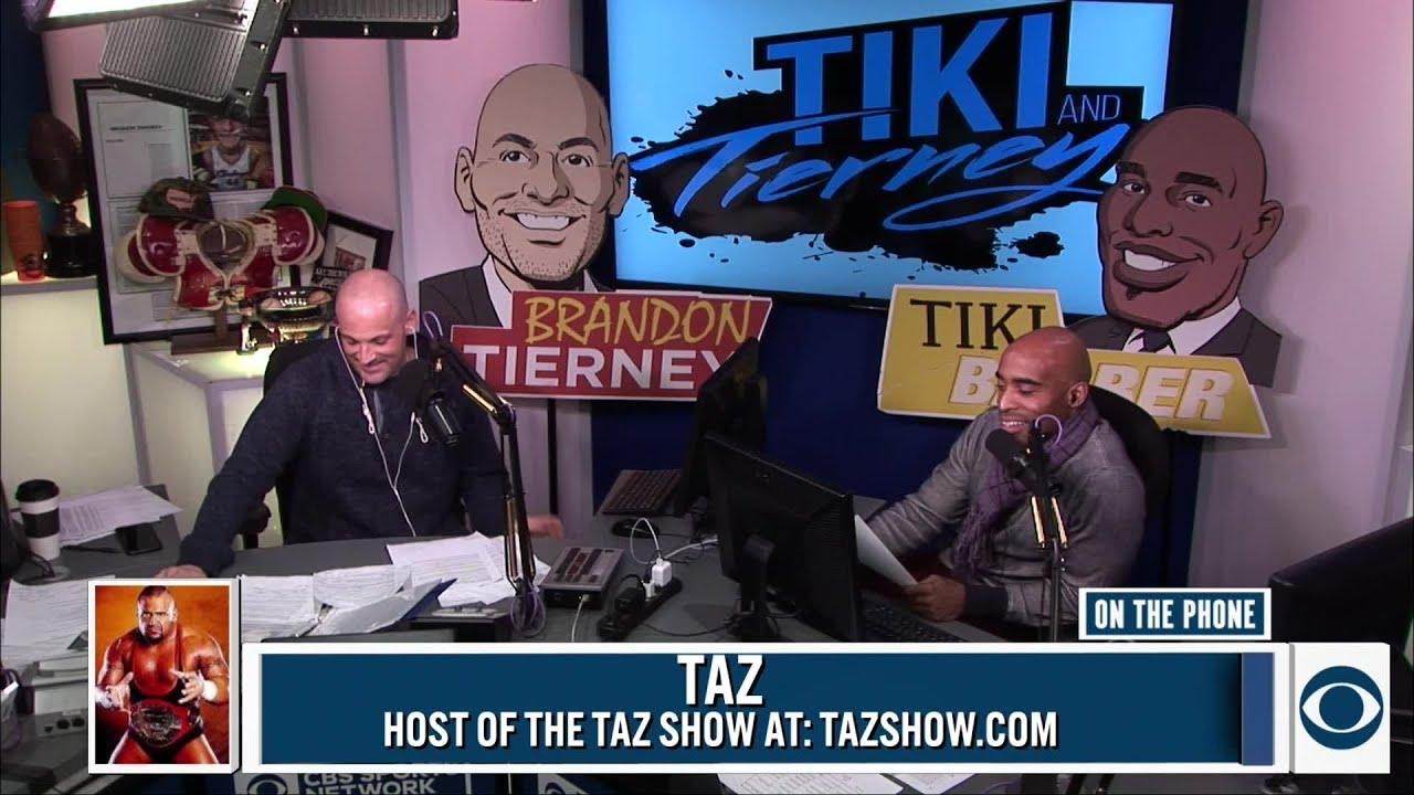 Taz joined Tiki and Tierney - YouTube