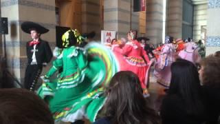 Los Alegres Bailadores dancing at Día de los Muertos at the Minnesota History Center 2015
