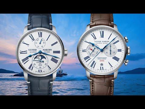 A Marine Torpilleur Moonphase and Annual Chronograph, Geneva Watch Days 2021 - Ulysse Nardin