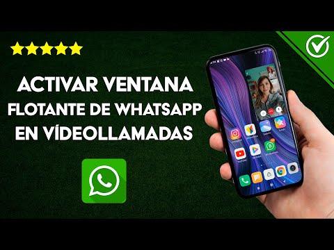 Cómo Activar la Ventana Flotante o en Segundo Plano en las Videollamadas en WhatsApp