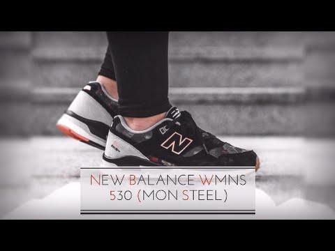 quality design 3e7b9 6feeb NEW BALANCE WMNS 530 (MON STEEL)/ SNEAKERS T