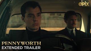 Pennyworth EPIX 2019 Series Trailer 120 seconds  DC Origin Story Alfred Pennyworth
