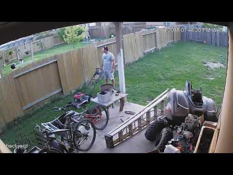 Creeping neighbor -  busted & confronted bad neighbor Magnolia Texas Lakes of Magnolia
