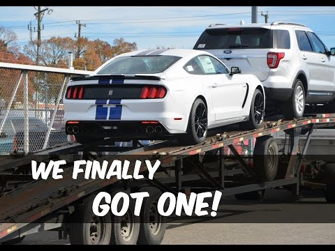 Unloading Our First Shelby GT350 Mustang