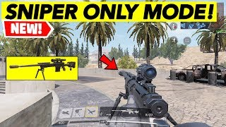 NEW UPDATE! SNIPER ONLY MODE | CALL OF DUTY MOBILE