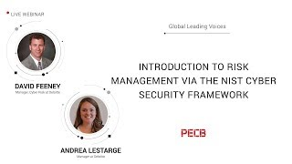 Introduction to Risk Management via the NIST Cyber Security Framework