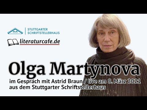 Olga Martynova im Gespräch mit Astrid Braun aus dem Stuttgarter Schriftstellerhaus