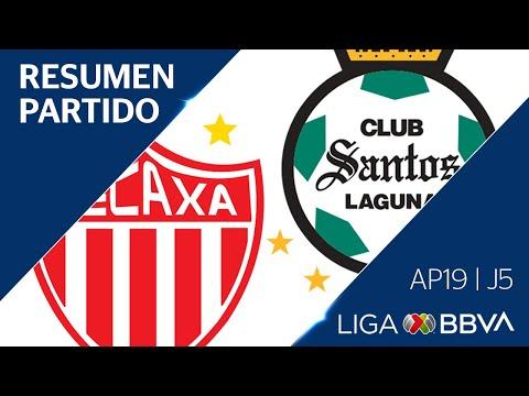 Resumen y Goles | Necaxa 3 - 0 Santos Laguna | Liga BBVA MX - Apertura 2019 - Jornada 5